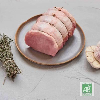 Rôti d'épaule de porc BIO