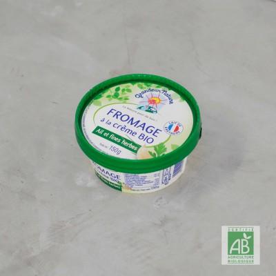 Fromage à la crème bio, Ail...