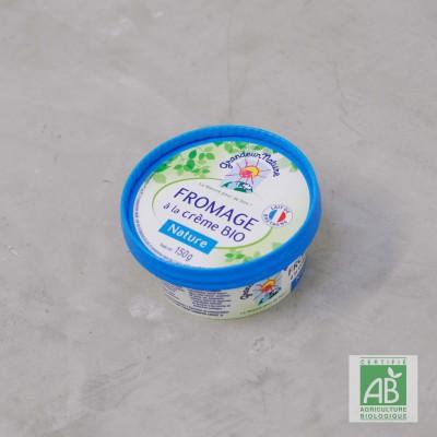 Fromage à la crème bio
