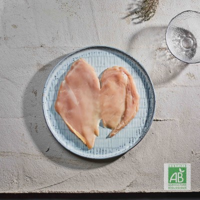 Paillard de poulet Bio par 4
