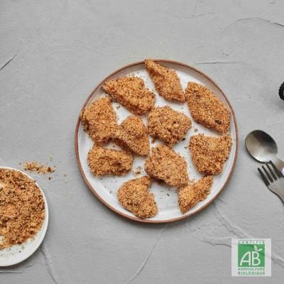 Nuggets de poulet Bio
