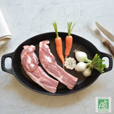 Travers de porc BIO