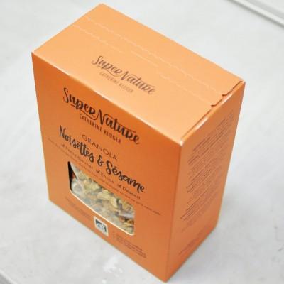 Granola Noisettes et Sésame
