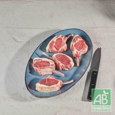 Côtelettes d'agneau BIO x 4